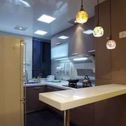 精致厨房吊灯设计