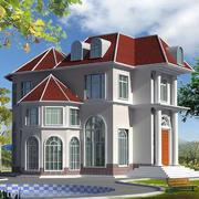 唯美的房屋效果图