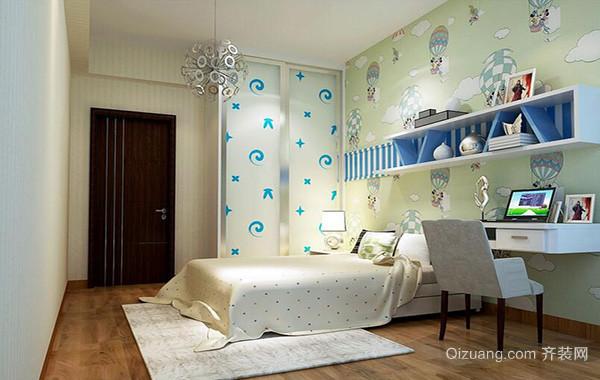 现代精致的大户型儿童房间室内装修效果图