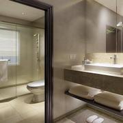 三居室卫生间效果图