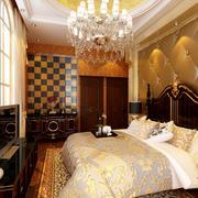 欧式时尚卧室吊灯效果图