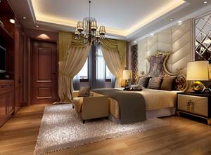 皇家般的奢华大气卧室装修效果图