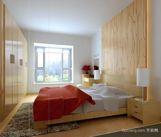别墅性复式小楼现代都市卧室装修效果图