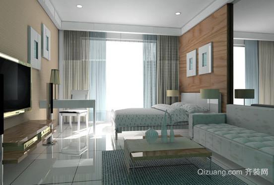 2016年简洁时尚小清新客厅装修效果图