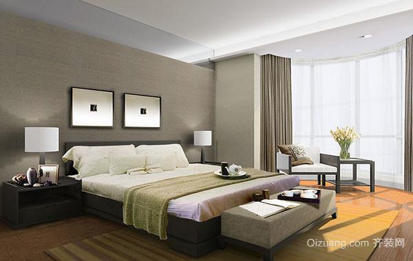 现代宜家都市卧室吊灯装修效果图