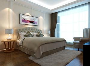 轻松现代简约时尚卧室装修效果图