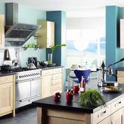 现代欧式小户型厨房室内装修效果图实例