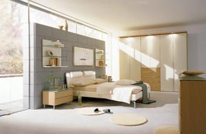 现代别墅简约时尚精致卧室装修效果图
