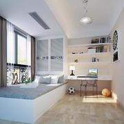 大户型现代简约室内榻榻米装修效果图