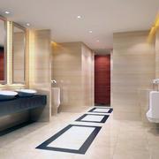 90平米现代欧式室内卫生间装修效果图