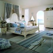 地中海风格背景墙效果图