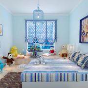 地中海可爱儿童卧室效果图