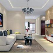 现代大户型经典欧式客厅装修效果图实例