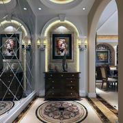 现代经典欧式别墅型玄关装修效果图鉴赏