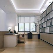 小户型现代简约风格室内书房装修效果图