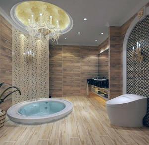 小户型马可波罗瓷砖卫生间背景墙装修效果图