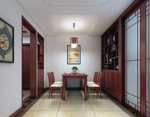 小户型中式风格室内酒柜装修效果图