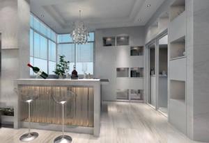 欧式风格大户型室内吧台装修效果图欣赏