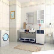 2016别墅型欧式浴室装修效果图实例