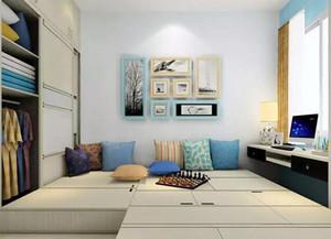 十平米小卧室榻榻米装修效果图