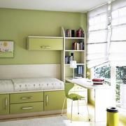动感绿色儿童房效果图