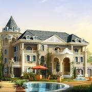 唯美欧式别墅图