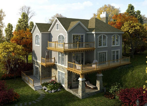 古典欧式风格别墅整体设计效果图赏析