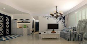 现代时尚简约精致客厅装修效果图赏析