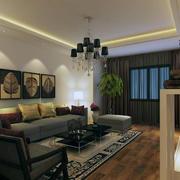 精致的沙发背景墙