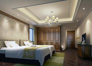 小户型精美欧式卧室背景墙装修效果图实例