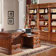 精致奢华大气欧式书房装修示范