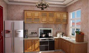 欧式时尚厨房装修效果图