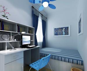 现代地中海风格儿童房装修效果图