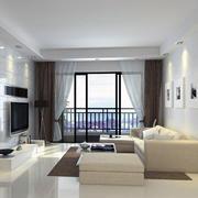 现代欧式风格别墅客厅装潢设计装修效果图