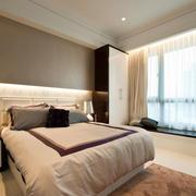 简单时尚卧室效果图