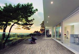 大户型精致的欧式阳台装修效果图欣赏