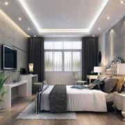 现代欧式小户型唯美卧室室内装修效果图