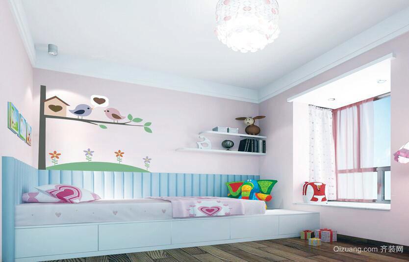 经典的大户型现代儿童房装修效果图鉴赏