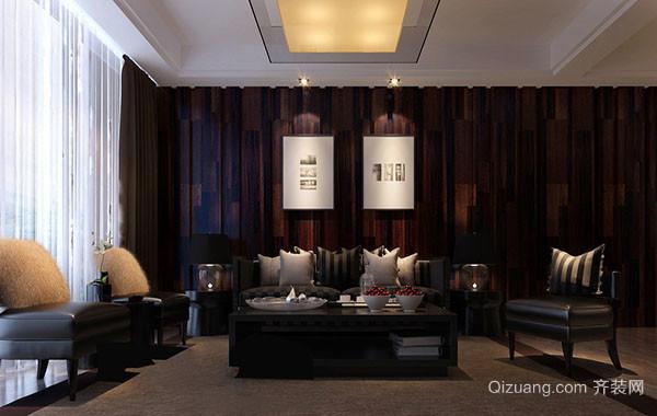 200平米三居室时尚客厅装修效果图