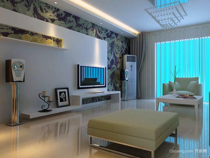 2016别墅型欧式风格客厅装修效果图实例