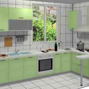 2016唯美的现代欧式厨房橱柜装修效果图