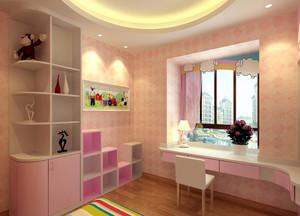 现代时尚可爱童趣儿童房装修效果图
