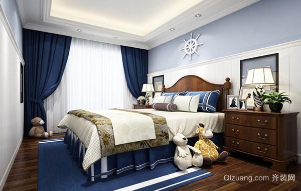 现代时尚简约儿童房装修效果图成功案例