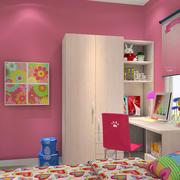 儿童房墙纸装修图