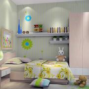 充满童趣可爱卡通儿童房装修效果图