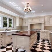 欧式时尚精致厨房装修效果图