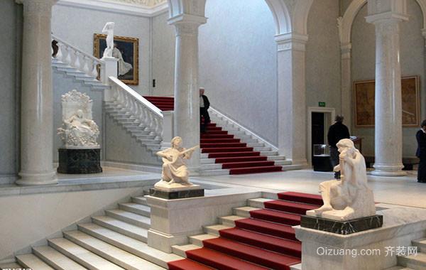 别墅自建别墅楼梯装修效果图