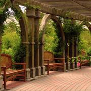 美式花园长廊效果图