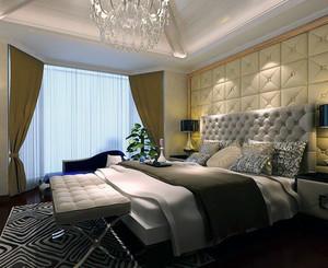 大户型后现代装修风格卧室背景墙装修效果图欣赏