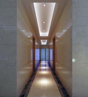 欧式风格两房一厅走廊吊顶装修效果图